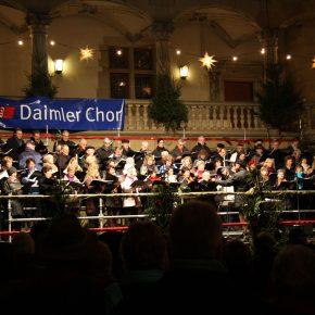 Konzert im Weihnachtsmarkt 2008